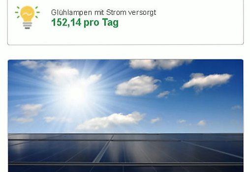 Die Fahrschule Smile erzeugt grünen Strom